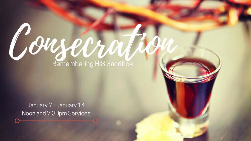 Consecration Services (Noon)