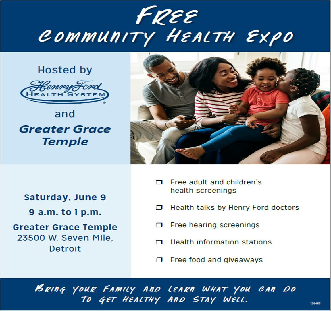 Henry Ford Health System FREE Community Health Expo