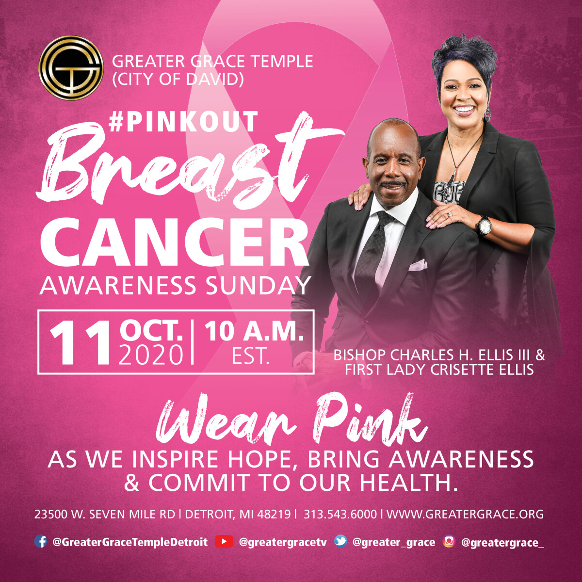 Breast Cancer Awareness Sunday