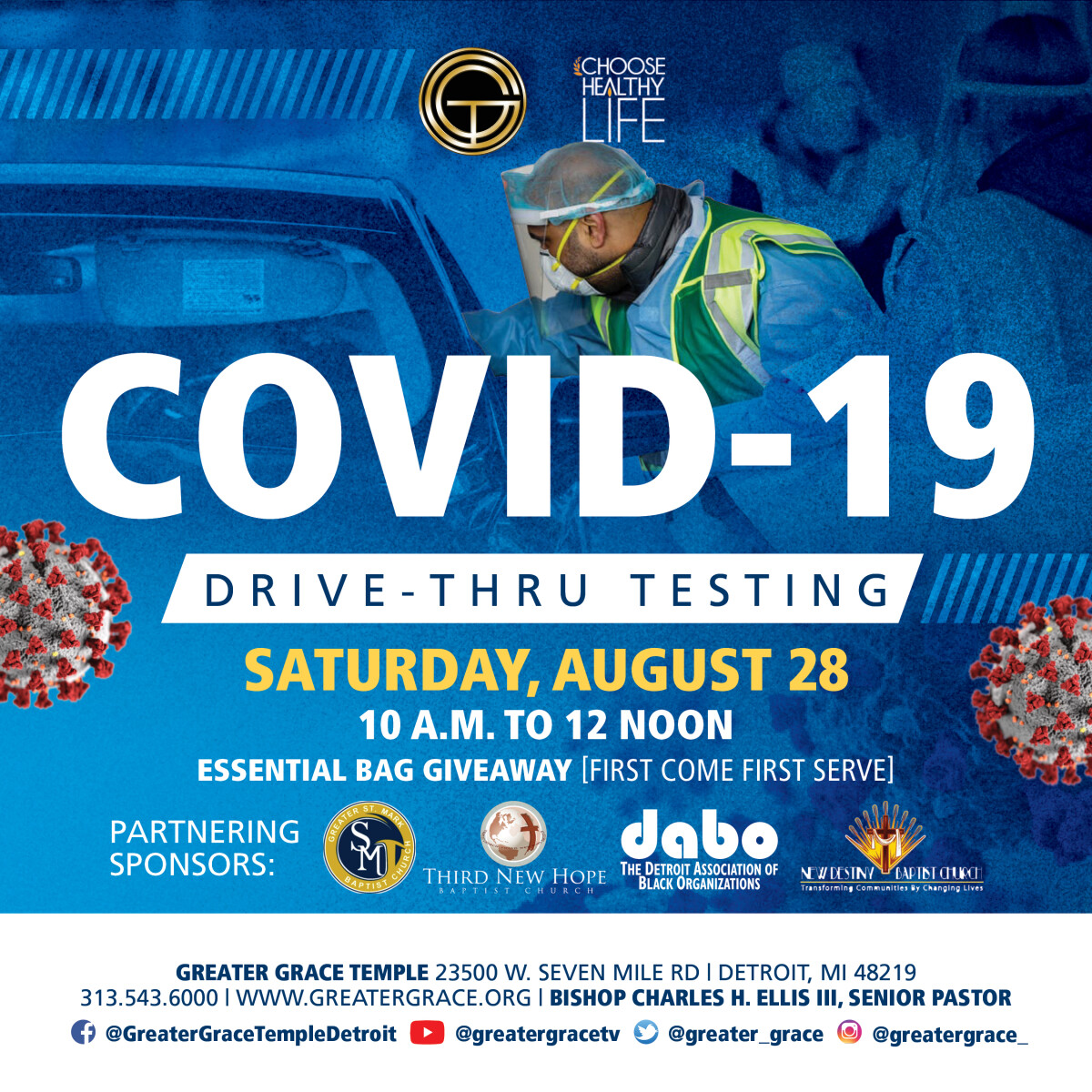 Free Covid Testing At Greater Grace
